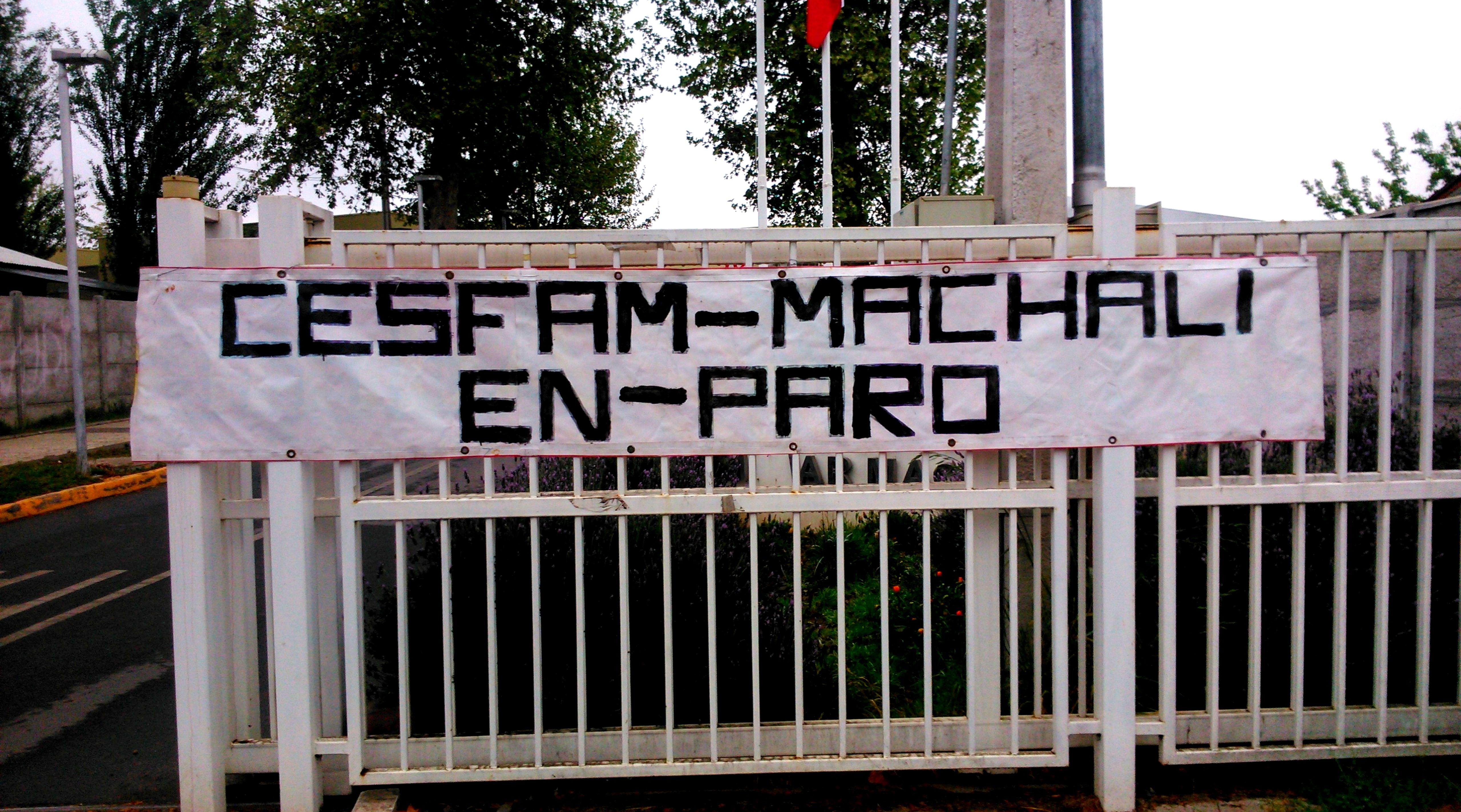 Salud Machali adhiere a paro de este lunes