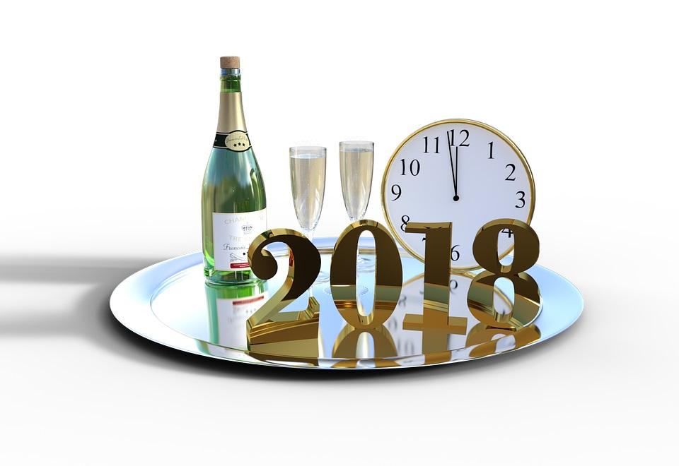 Cábalas para recibir el Año Nuevo 2018