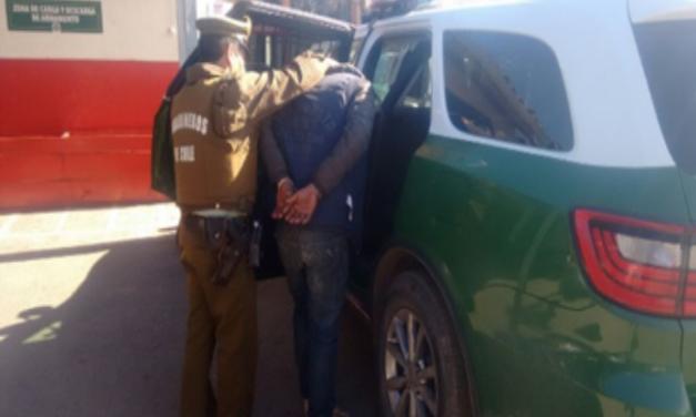 Hombre es detenido luego de ser sorprendido sustrayendo especies de predio agrícola de Machali