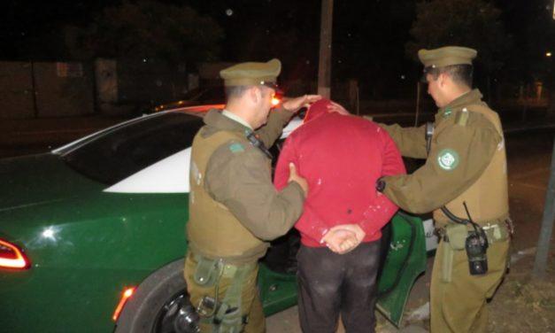 Detienen a sujetos por robo de almendras en sector de Nogales de Machali