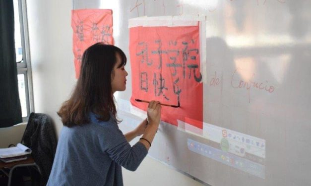 Taller de Caligrafía China en Casa de la Cultura de Rancagua