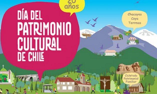 Conoce las actividades que se realizarán en Machalí el Día del Patrimonio Cultural