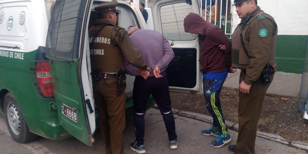 Dos detenidos por robo en vivienda de Machalí