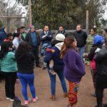 Seremi del Minvu visitó población 12 de febrero en Machalí
