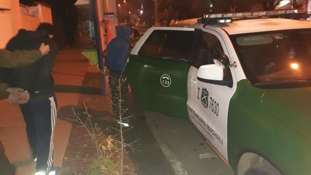 Cinco detenidos deja servicios extraordinarios de Carabineros en Machali