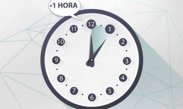 Este sábado 11 de agosto cambia la hora