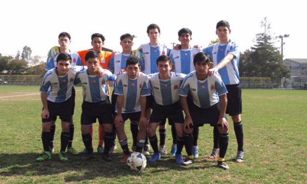 Machalí invicto y puntero en torneo ARFA sub 17