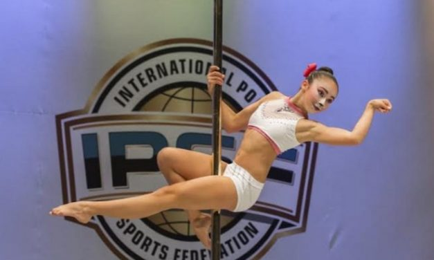 Joven deportista obtiene tercer lugar latinoamericano en Campeonato Mundial de Pole Dance