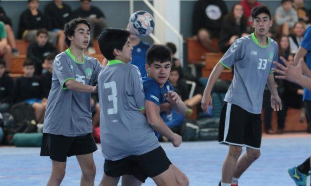 Machali nuevamente es el centro del balonmano regional