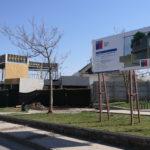 Vecinos de Barrio Nuevo Horizonte – Cordillera visitaron obras de nuevo centro comunitario en Machalí