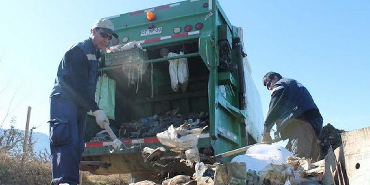Revisa los días que no pasará el camión de basura por fiestas de fin de año