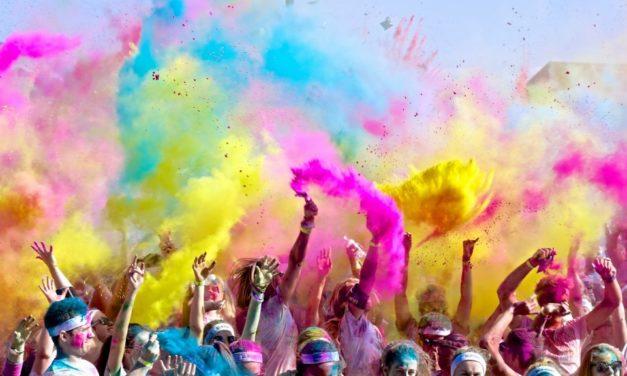 Corrida del color gratuita en Rancagua