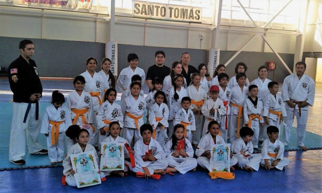 Kenpo Legacy: Torneo de karate en Machali