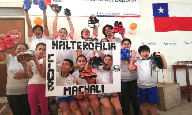 Potencian el levantamiento de pesas de Machalí