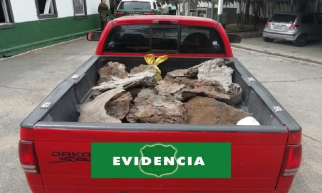 Detienen a hombre con más de mil ochocientos kilos de rebaba de cobre