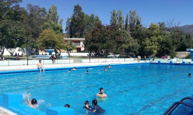 Ya abrió la piscina de Machalí