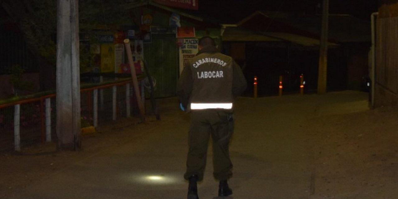 Investigan homicidio en Machalí
