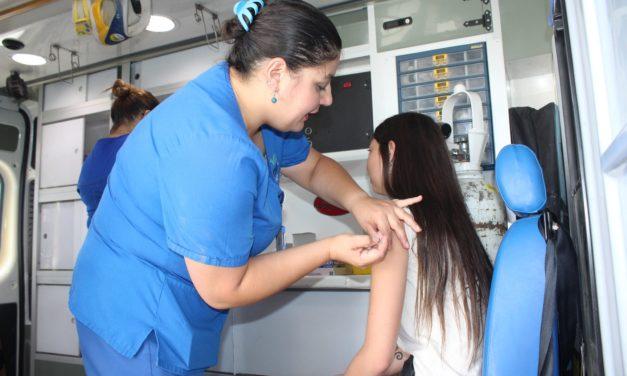 Favorable inicio de campaña de vacunación contra el Sarampión se está desarrollando en Machalí