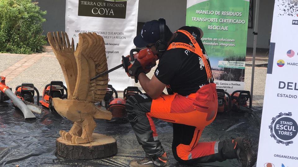 Coya será sede del Encuentro Internacional de Escultores en Motosierra