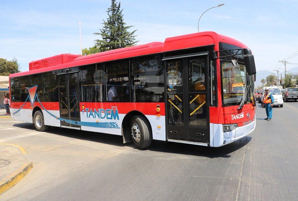 División El Teniente utilizará buses eléctricos para transportar a sus trabajadores