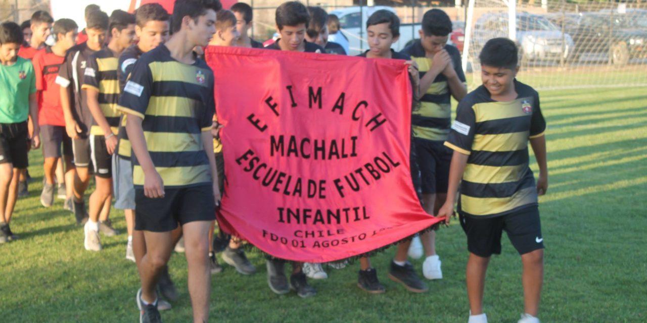 """Efimach participa en """"Campeonato Internacional de Fútbol Infantil en Pumanque"""""""