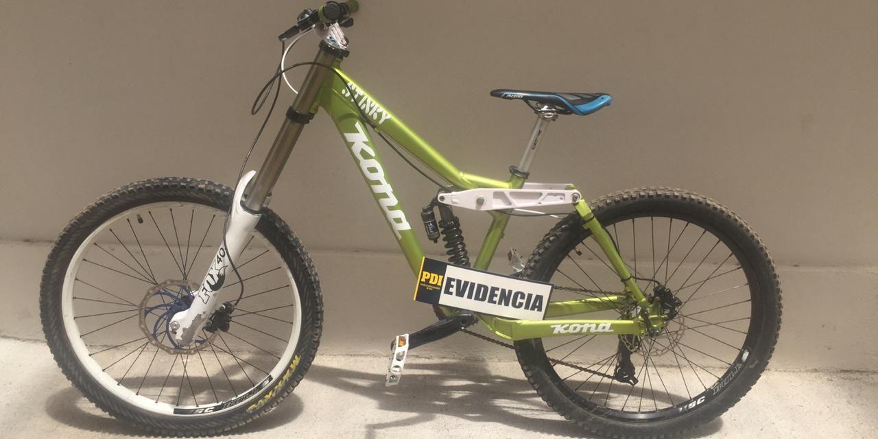 Recuperan bicicleta avaluada en más de un millón de pesos