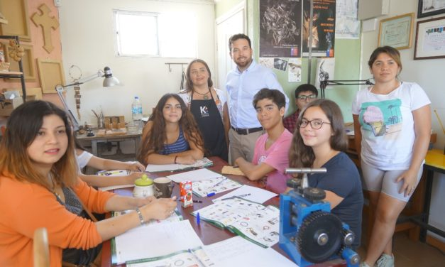 INJUV O'Higgins dicta talleres recreativos y educativos a jóvenes de la región