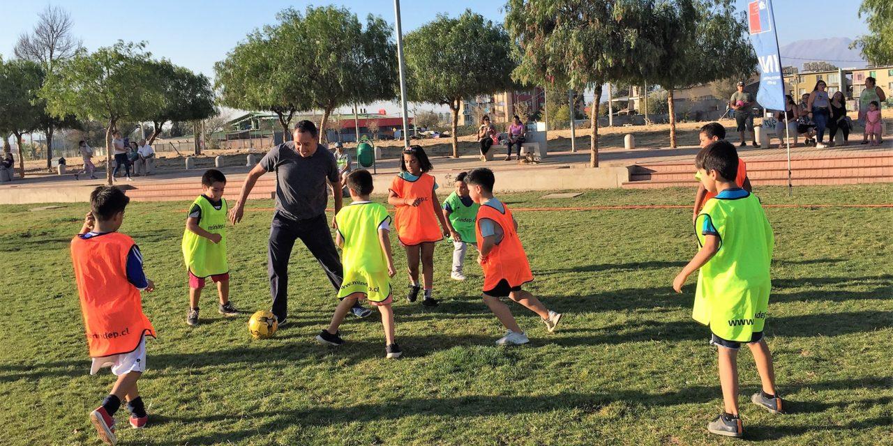 Talleres deportivos gratuitos en Machalí y comunas de la región