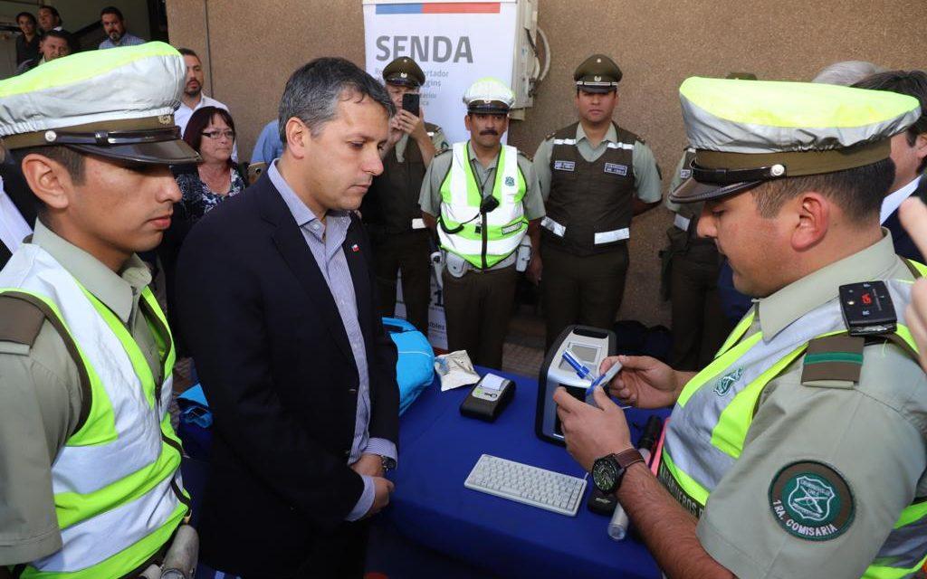 Lanzan el Narcotest a conductores en la región de O´Higgins