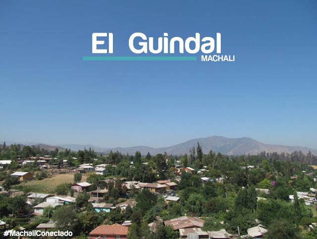 Toma «El Guindal» de Machali