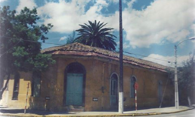 La antigua calle Irarrázaval de Machali
