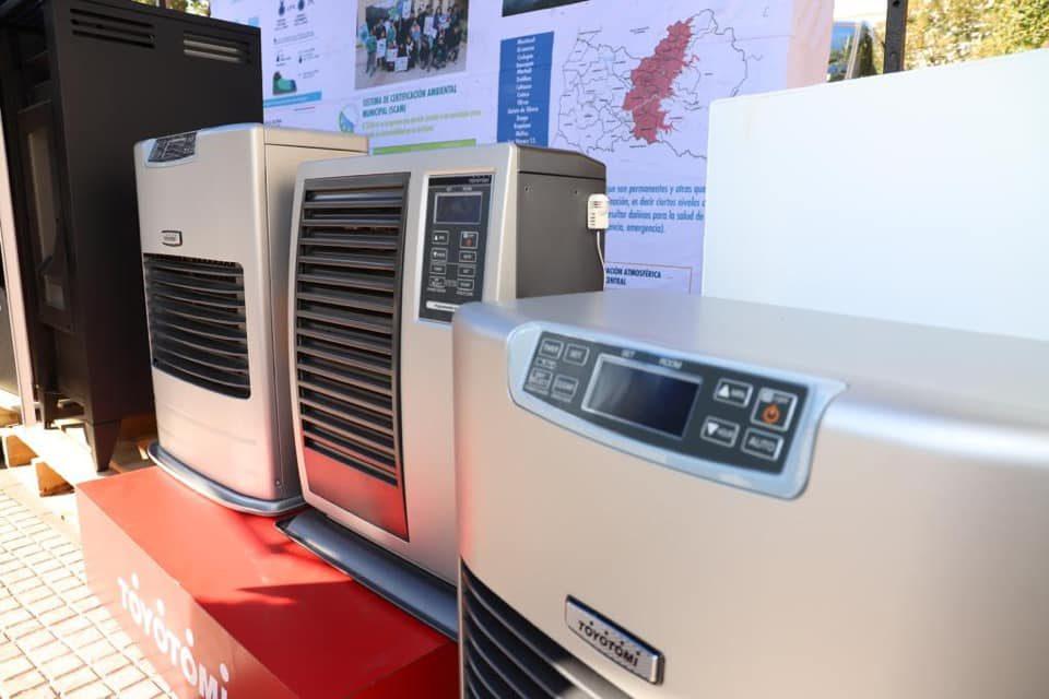 Inician postulaciones al   Programa de Recambio de Calefactores
