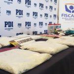 Desbaratan laboratorio clandestino de drogas en Rancagua