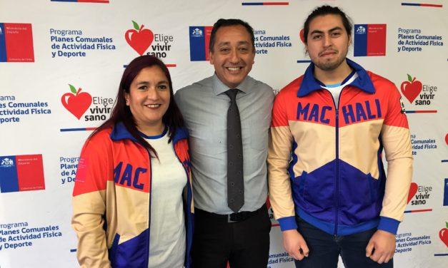 Halterofilia machalina obtiene recursos del ministerio del deporte
