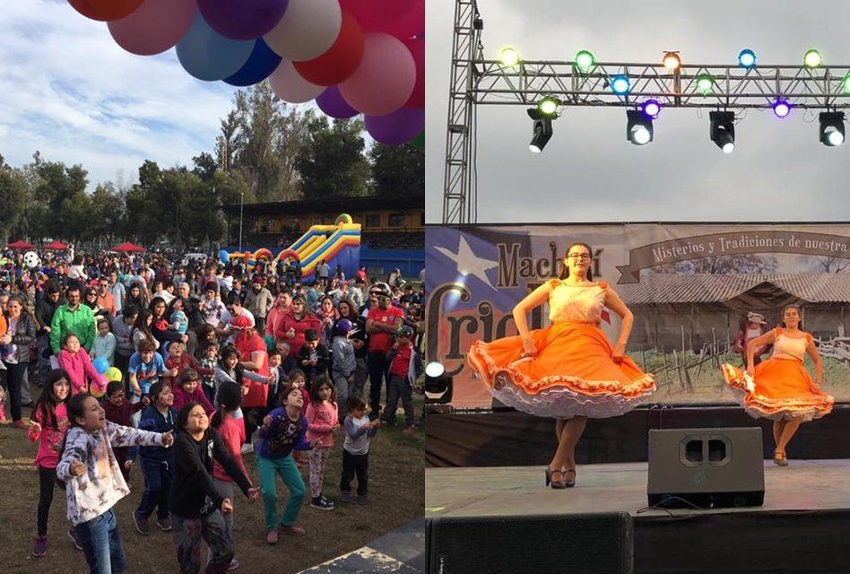 Machalí se viste de fiesta para celebrar el «Día del Niño» y el «Machalí Criollo»