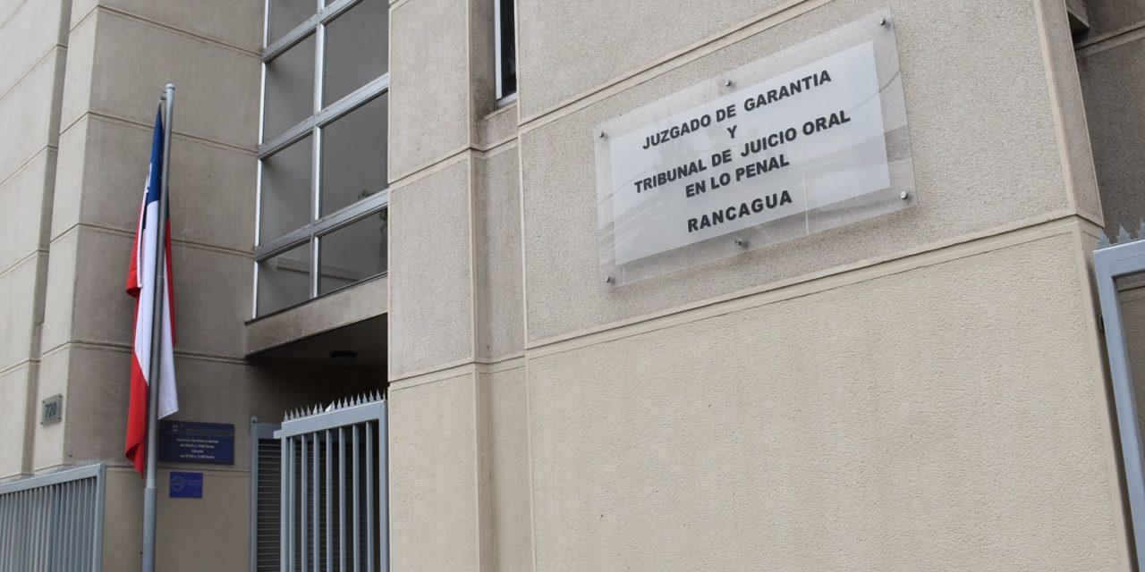 Condenan a 5 años de cárcel a autores de robo con fuerza en Machalí