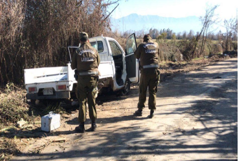 Recuperan camioneta robada desde empresa de Machalí