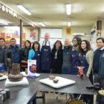 Ministro de Minería visitó Escuela de Orfebres de Coya