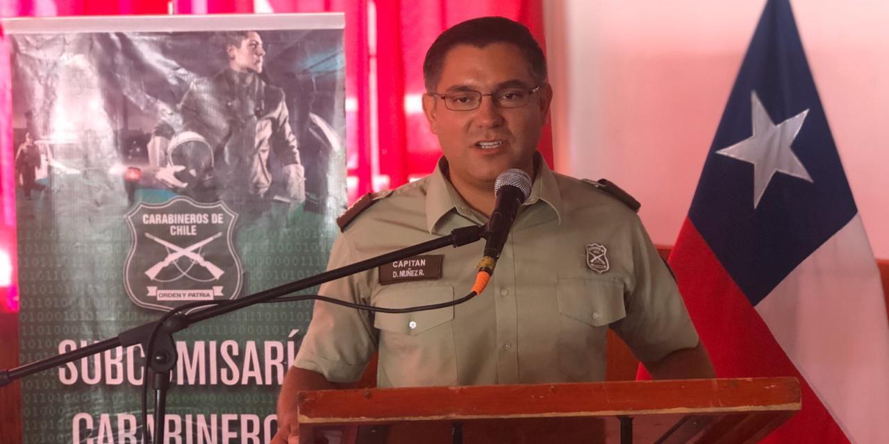 Subcomisario de Machalí efectuó cuenta pública
