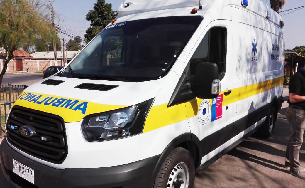 CESFAM Machalí cuenta con nueva ambulancia