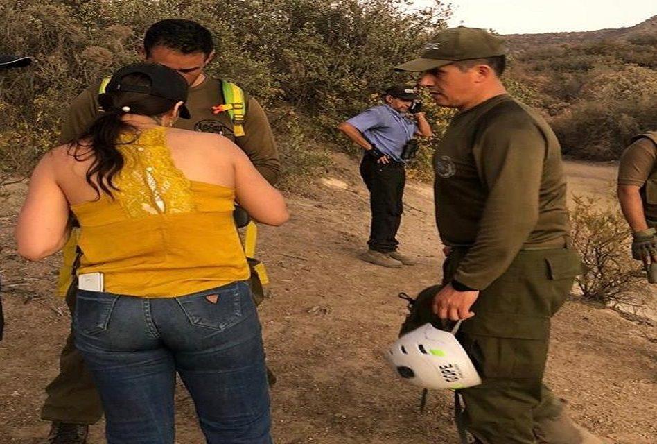 Encuentran a jovenes extraviados en cerro de Machalí