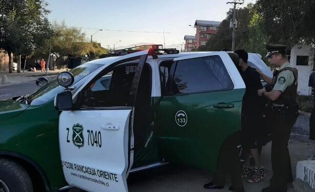 En Machalí fue encontrado vehiculo robado a conductor de DiDi en Rancagua
