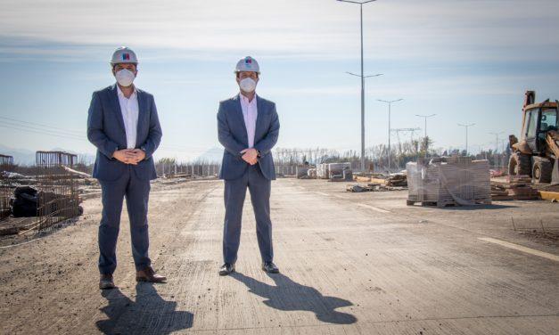 Mejoramiento de eje vial República-Balaguer presenta 80% de avance