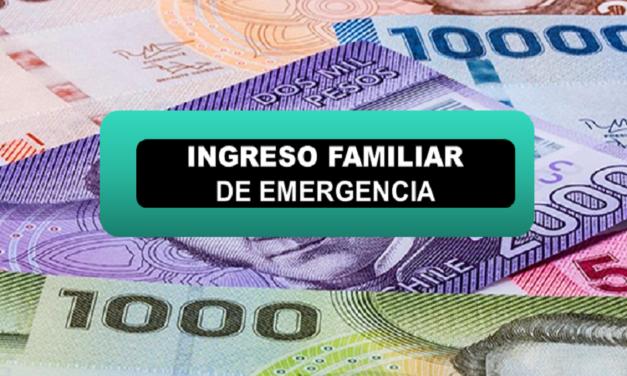 Comenzó último pago del  Ingreso Familiar de Emergencia: Revisa acá si te corresponde