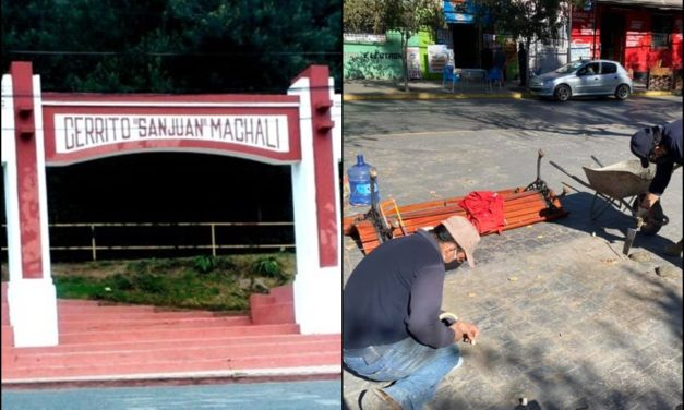 Cierran acceso al Cerro San Juan y sacan bancas de la Plaza de Machalí