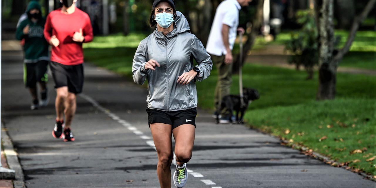 ¿Es recomendable usar mascarilla para hacer deporte?