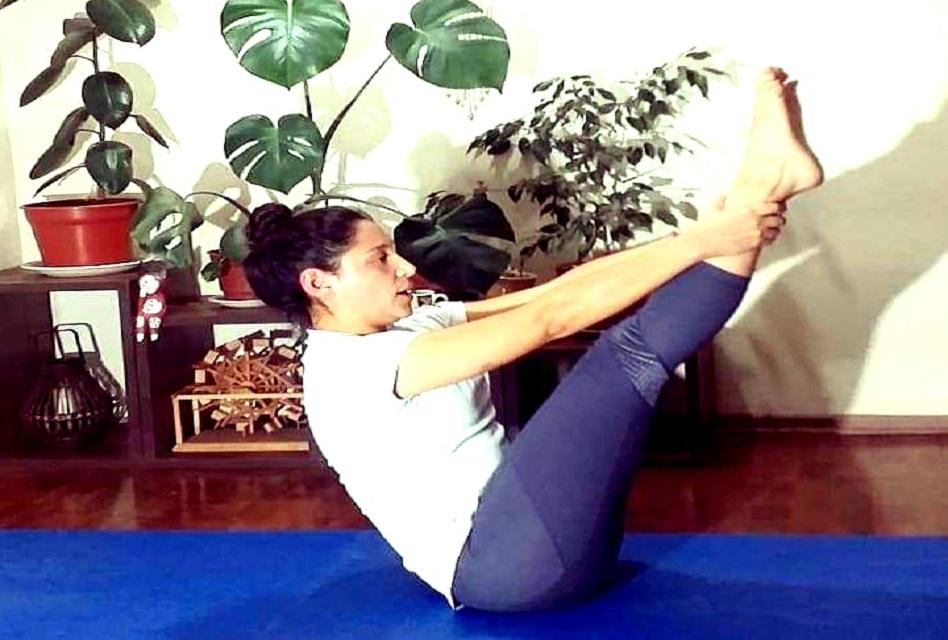 El yoga se une #EntrenaEnCasa