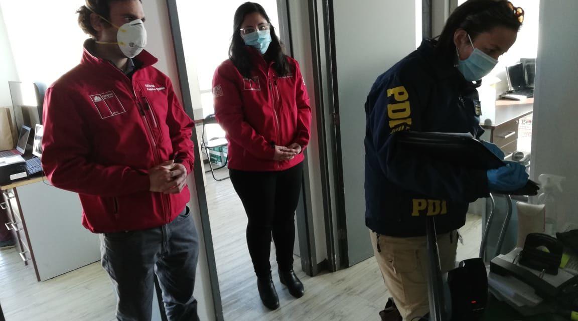 Tras denuncia anónima suspenden funciones de empresa cosmética que obligaba a sus trabajadores a prestar servicios pese a estar en zona en cuarentena