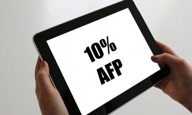 Comienzan las solicitudes para retirar el tercer 10% de las AFP