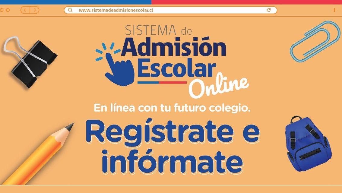 Mineduc presenta novedades en la implementación del Sistema de Admisión Escolar en el contexto COVID-19